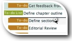 Reorder items - to-dos, lists and even milestones