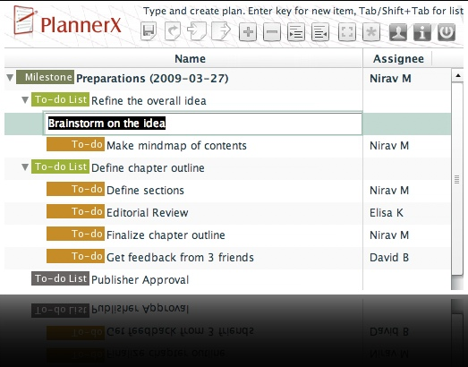 Plannerx Planning Screen Reflection Home Plannerx Web Based Project Planning Tool That Works With On Home